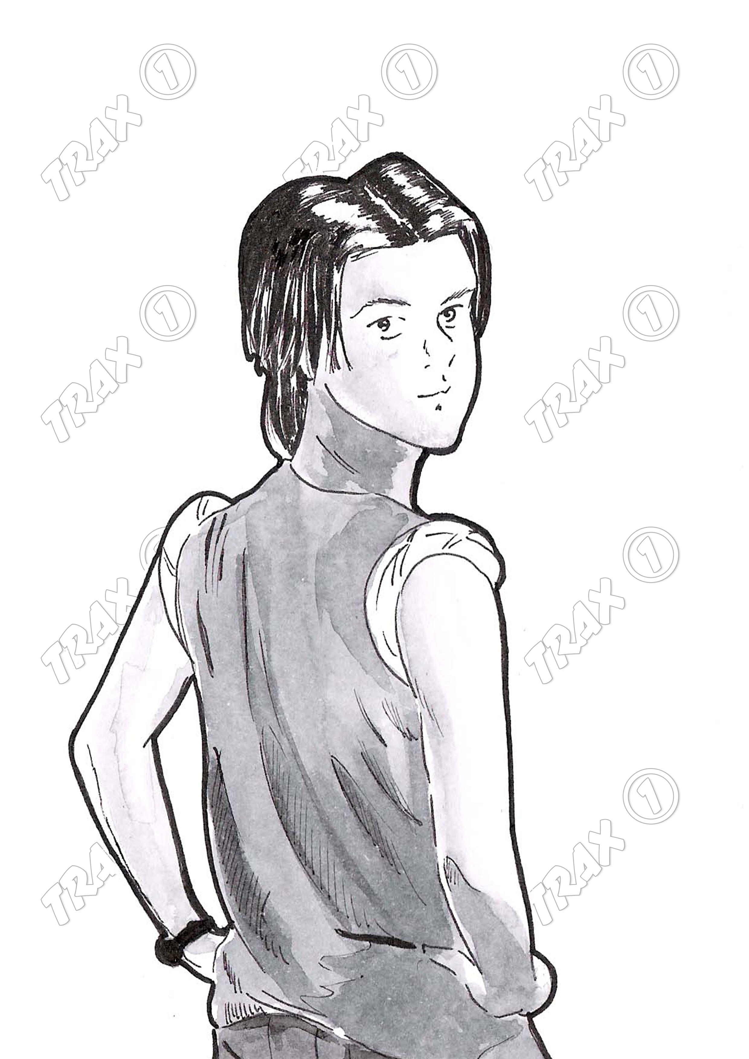 i personaggi di trax one yuri images